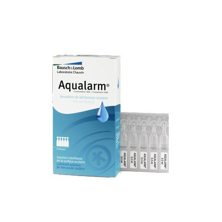 Aqualarm Solution Ophtalmique Lubrifiante 20 Unidoses