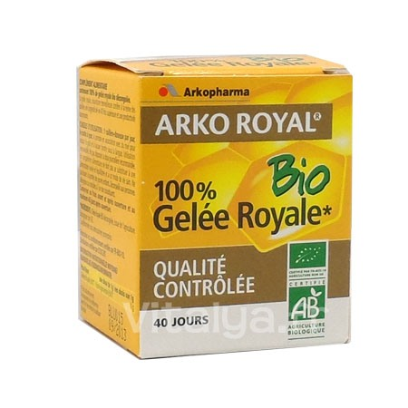 Arkoroyal 100% Gel�e Royale Bio Pot 40g
