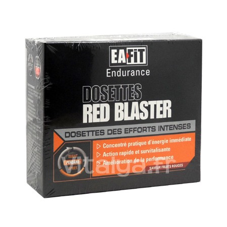 Dosettes Red Blaster Fruits Rouges Eafit 10 Dosettes
