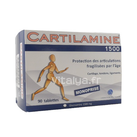 Cartilamine 1500mg 90 Tablettes