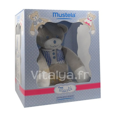 Musti Eau de Soin Mustela 100ml + 1 Peluche Gar�on