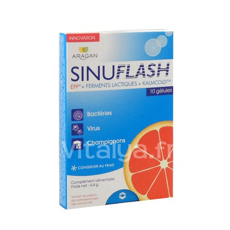 Sinuflash Aragan 10 G�lules