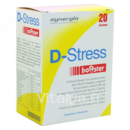 D-Stress Booster Synergia 20 Sachets
