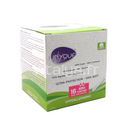 Unyque Mini Tampons avec Applicateur x16