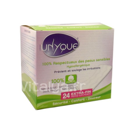 Unyque Protège-Slips Pockets Extra-Fin x24