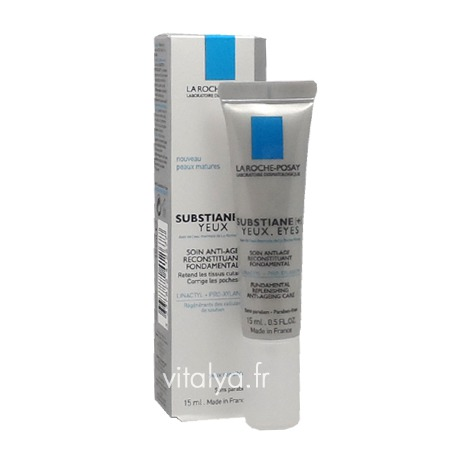 la roche posay substiane contour des yeux soin yeux anti rides. Black Bedroom Furniture Sets. Home Design Ideas