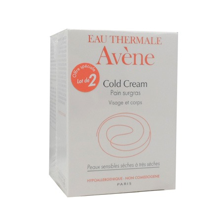 Avène Cold Cream pain surgras duo 2x100g