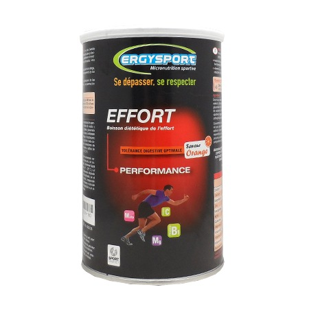 Ergysport Effort Saveur Orange Nutergia 450g