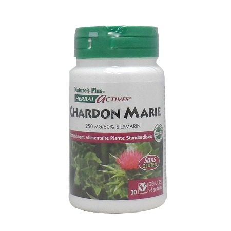 Chardon Marie Nature\'s Plus 30 gélules