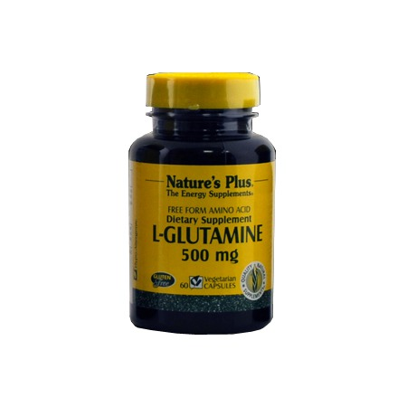 L-Glutamine 500 mg Nature\'s Plus 60 gélules