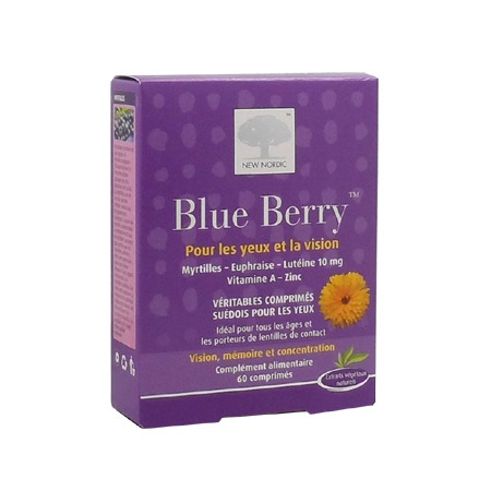 Blue Berry New Nordic 60 comprimés