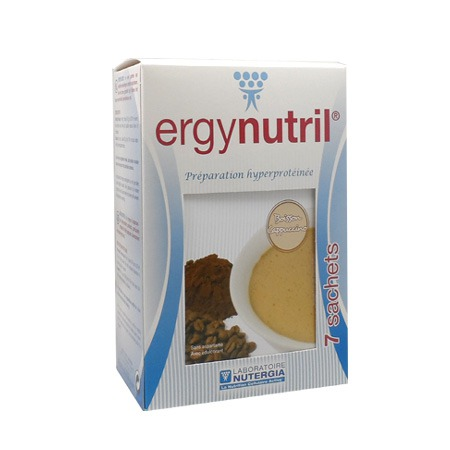 Ergynutril boisson cappuccino Nutergia 7 sachets