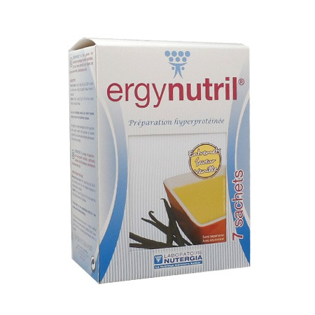 Ergynutril entremets vanille Nutergia 7 sachets