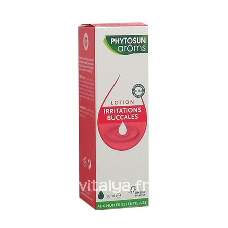 Lotion Irritations Buccales Phytosun Aroms 15 ml