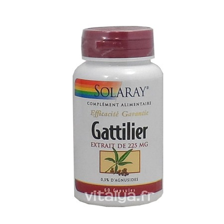Gattilier (Vitex) 225mg Solaray 60 Capsules