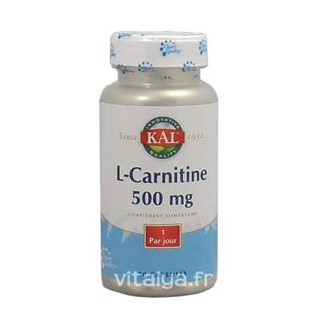 L-Carnitine 500 mg Solaray 30 capsules