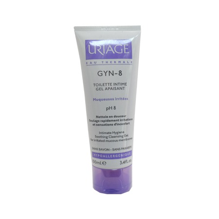 Gyn-8 Toilette Intime Gel Apaisant Uriage 100ml