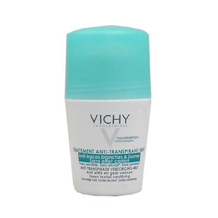 Déodorant 48H Anti-Traces Roll-On Vichy 50 ml