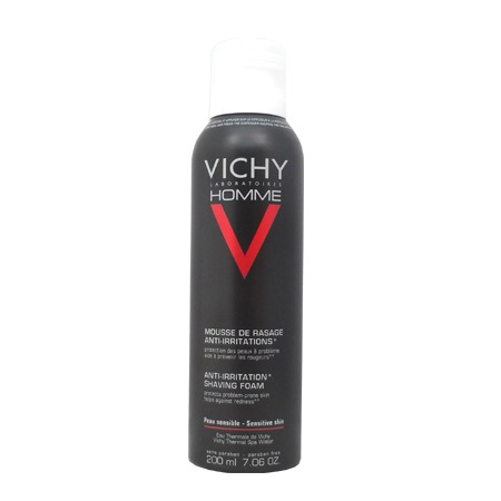 Mousse de Rasage Anti-Irritations Vichy Homme 200ml