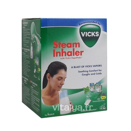 Inhalateur à Vapeur Steam Inhaleur Vicks