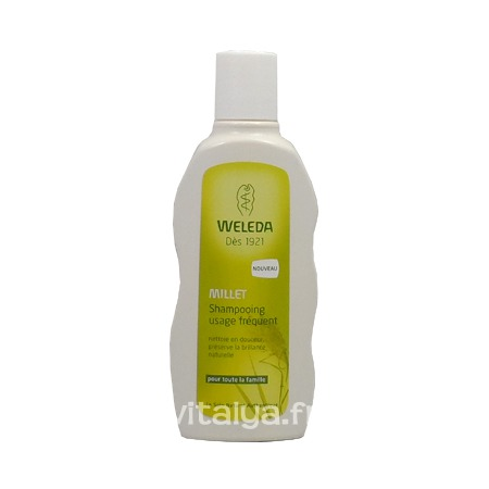 Shampooing Usage Fréquent Millet Weleda 190 ml