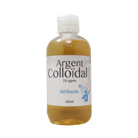 Argent colloïdal 20ppm gel douche 250ml, Dr theiss