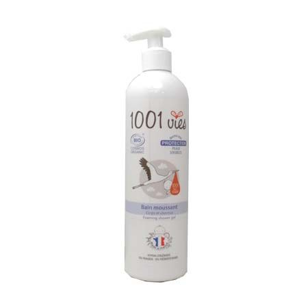 Bain moussant Protection 1001 vies 400 ml