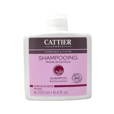 Shampooing Cheveux Secs Cattier Bambou 250 ml