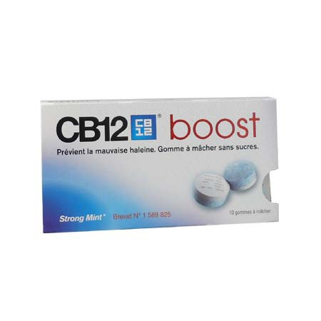 CB12 Boost 10 gommes à macher