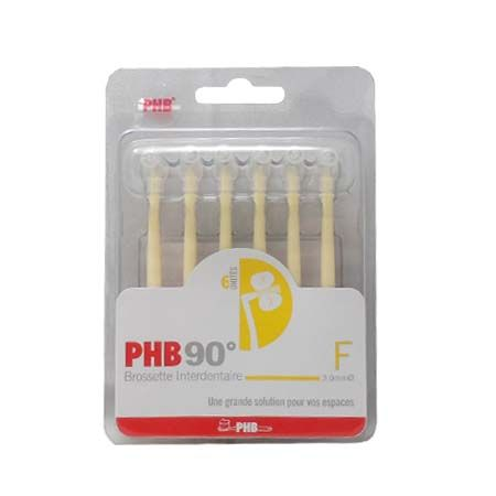 PHB 90° F 3,0 mm 6 brossettes interdentaires