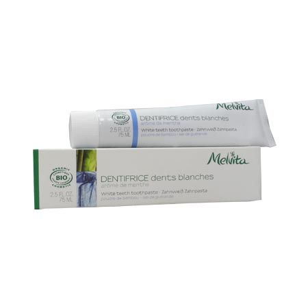 Melvita Dentifrice dents blanches Bio 75 ml
