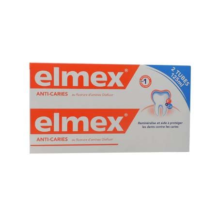 Dentifrice Anti-Caries Elmex 125ml Lot de 2