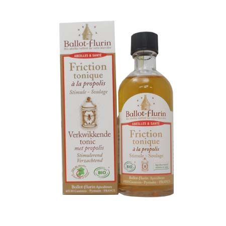 Friction tonique à la propolis Ballot-Flurin 100 ml