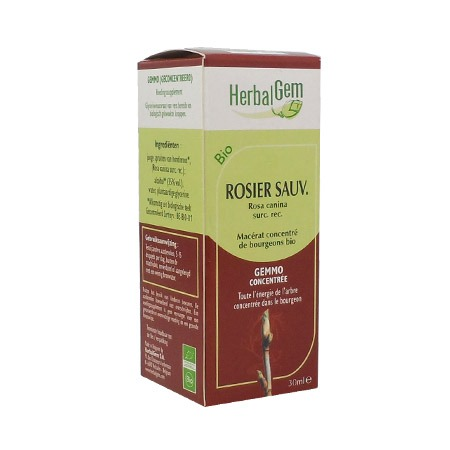 Herbalgem Rosier Sauvage bio 30ml