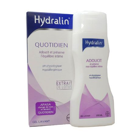 Hydralin Quotidien Soin Intime 200 ml