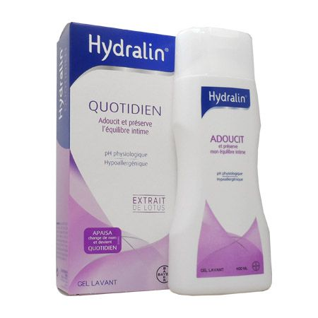 Hydralin Quotidien Soin Intime 400 ml