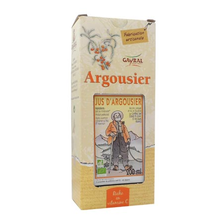 Gayral Jus d\'argousier 200ml