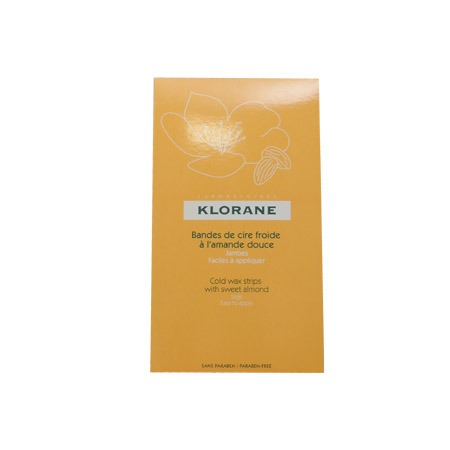 Klorane cire froide jambes 6 bandes