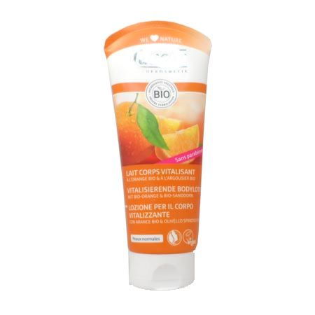 Lait corps vitalisant Lavera orange feeling 200 ml