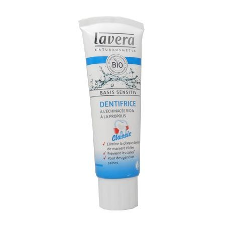 Lavera Dentifrice Classique Bio Basis Sensitiv 75 ml