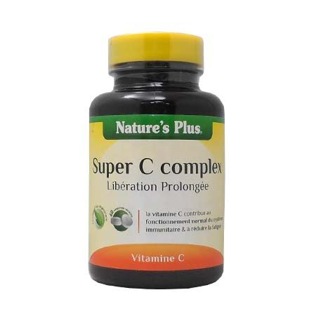 Super C Complex Nature\'s Plus 60 Comprimés