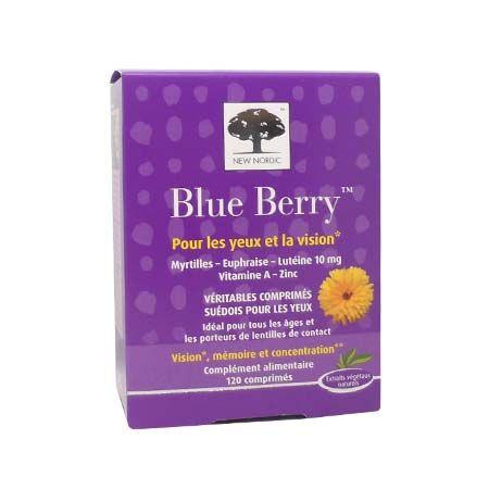 Blue Berry New Nordic 120 comprimés