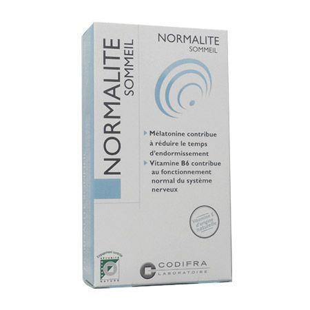 Normalite Sommeil Codifra 30 Capsules