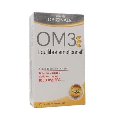 OM3  Equilibre Emotionnel 60 capsules