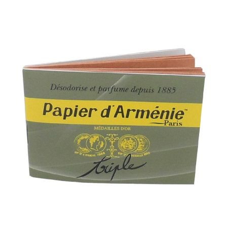 Papier d\'Arménie traditionnel triple
