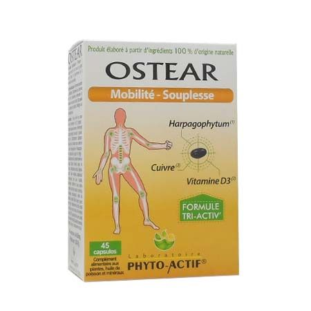 Ostear Phyto-Actif 45 capsules