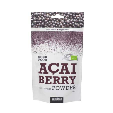 Baies d\'açai super food Purasana 100g