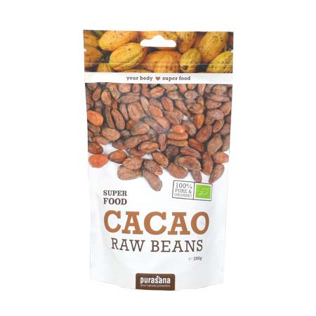 Cacao fèves super food Purasana 200g