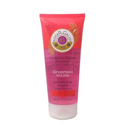 Roger Gallet, gel douche gingembre rouge dynamisant 200ml