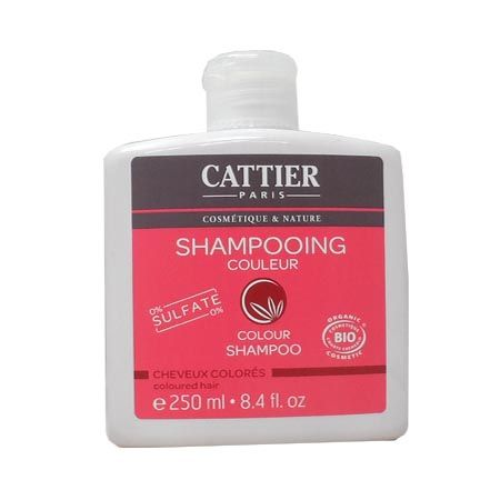 Cattier Shampoing couleur sans sulfate 250 ml